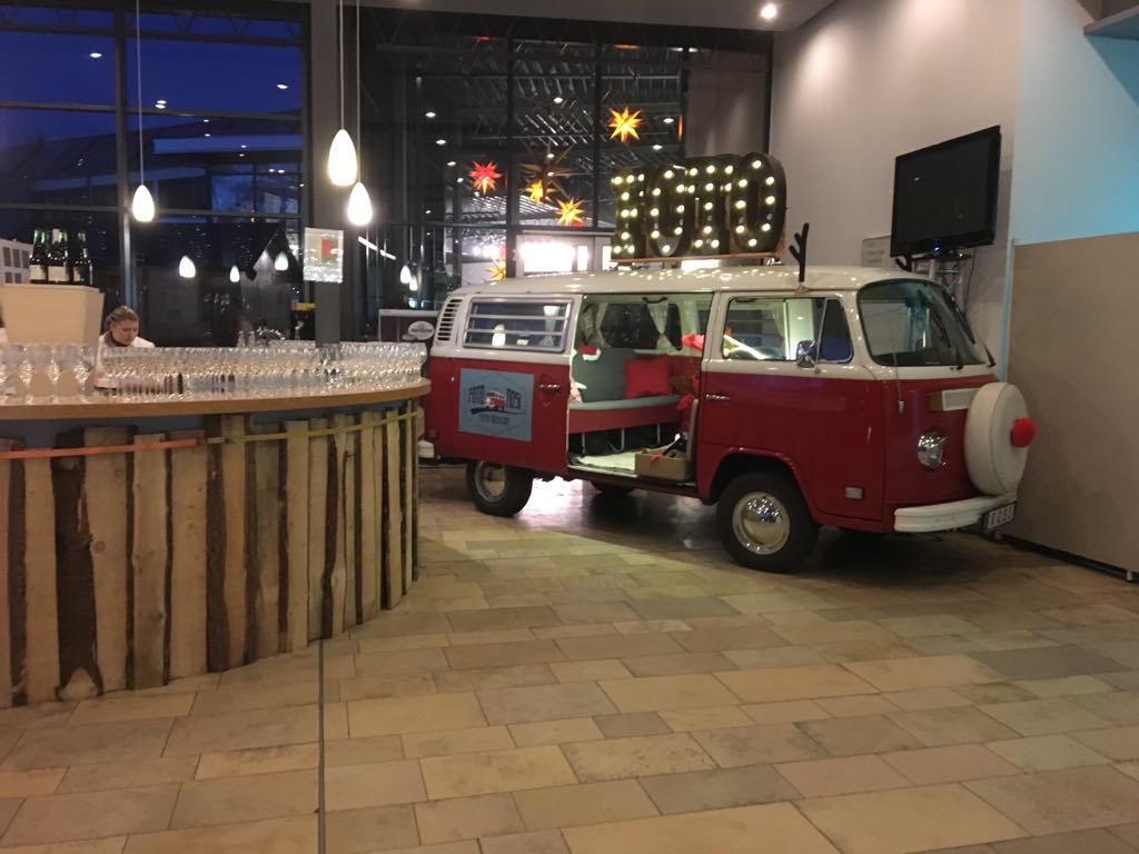 Photobooth VW Bulli für Weihnachtsfeier und Events mieten Bad Tölz München